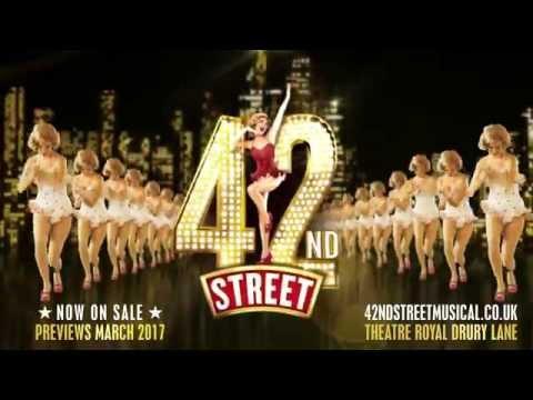 42nd Street: Theatre Royal Drury Lane - March 20th 2017!