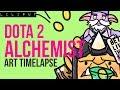 『 ART TIMELAPSE 』DOTA 2 ALCHEMIST