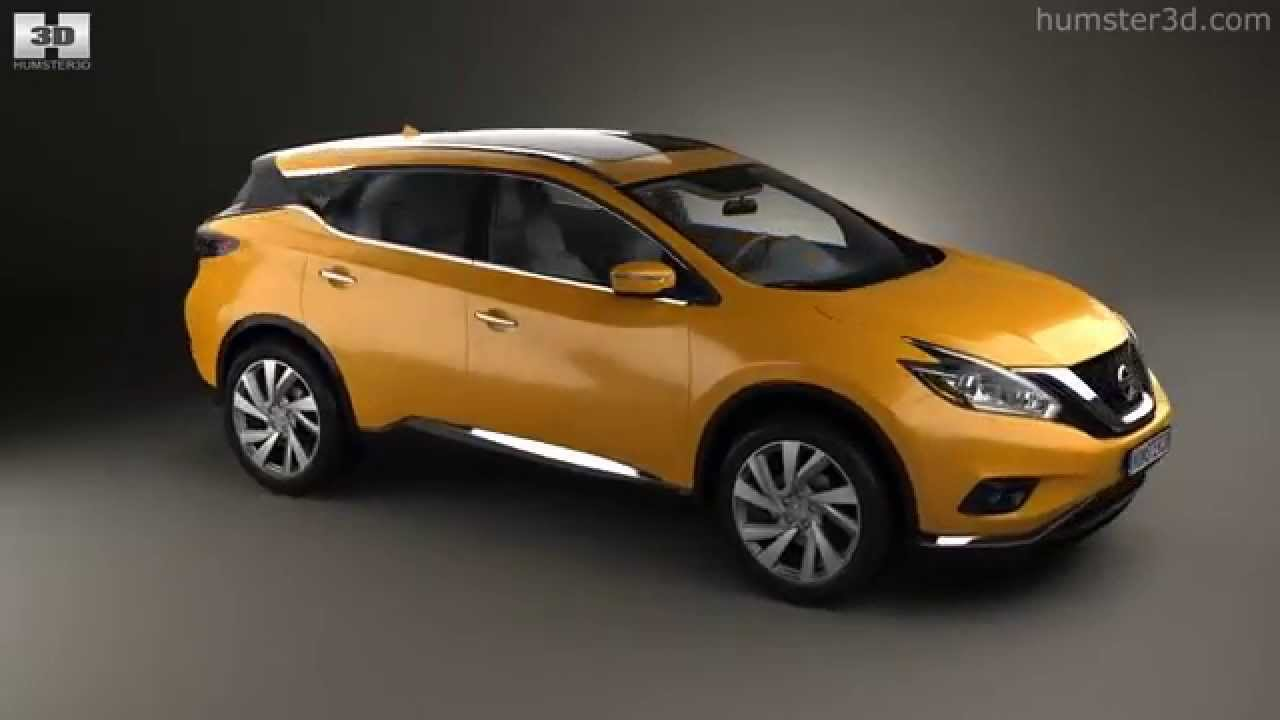 Nissan Murano Z52 2015 By 3d Model Store Humster3d Com