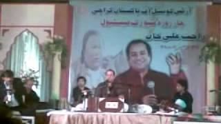 Sanware Tere bina - Live Rahat Fateh Ali Khan @ Arts Council Karachi