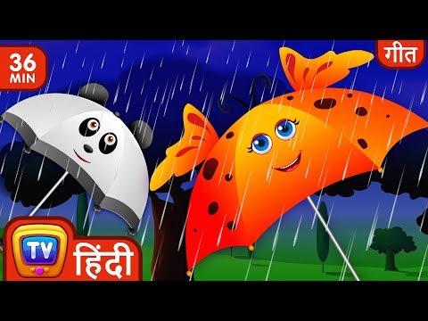 बारिश बारिश जाओ ना (Rain Rain Go Away) Collection - Hindi Rhymes For Children - ChuChu TV