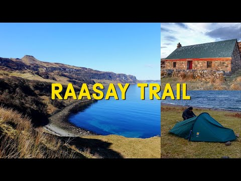 Wild camping on Raasay Scotland (The Raasay Trail)