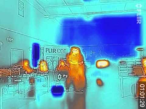 FLIR ONE™ Developer & Hacker Party | Thermal Imager +  iOS SDK - TimeLapse
