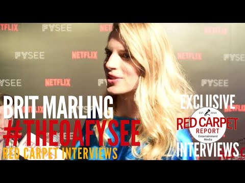Brit Marling ed at Netflix's FYSEE Space Event for