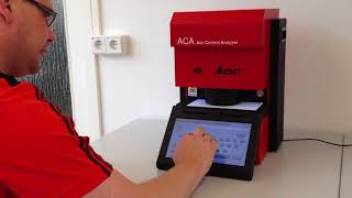 Gambar cover Emtec ACA Ash Content Analyzer