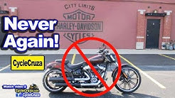 Why I Will NEVER Go To a Harley Davidson Dealership Again! | MotoVlog