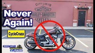 Why I Will NEVER Go To a Harley Davidson Dealership Again!   MotoVlog