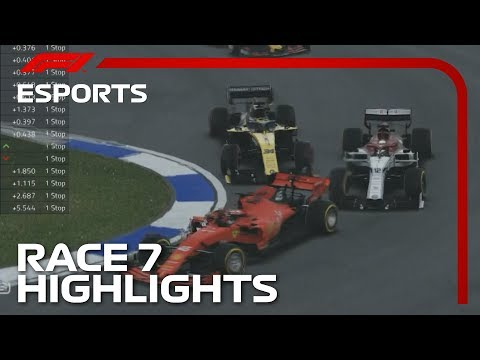 F1 Esports Pro Series 2019: Race Seven Highlights