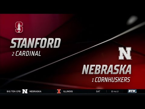 Highlights: Nebraska Falls to Stanford in Championship Rematch | B1G Volleyball | Sept. 18, 2019