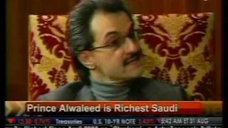 Prince Alwalled Is Richest Saudi - Bloomberg