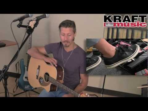 Kraft Music - Boss RC-300 Loop Station Demo with Tony Smiley