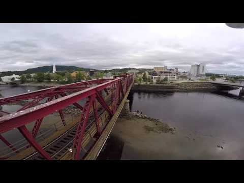 Aerial Drone Video of Steinkjer