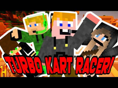 Minecraft - TURBO KART RACER!!! XD