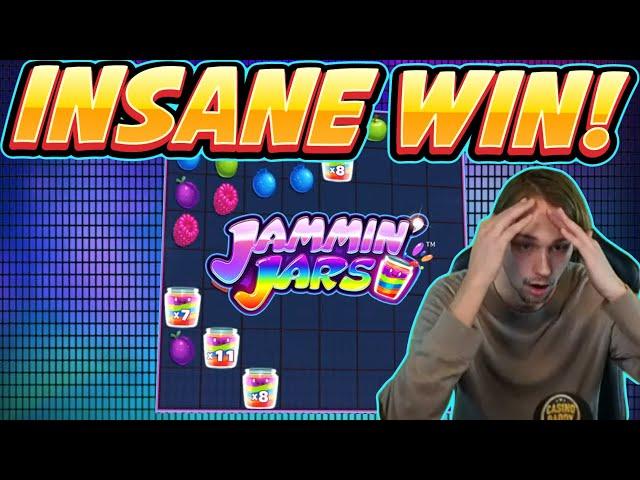 INSANE WIN! Jammin Jars Big win - MEGA WIN - Casino Game from Casinodaddy Live Stream