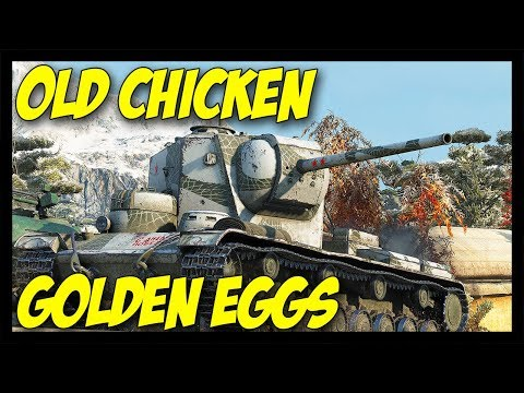 ► Old Chicken Laying Golden Eggs! - World of Tanks KV-5 thumbnail