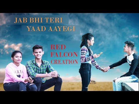 JAB BHI TERI YAAD AAYEGI|| I-SHOJ || LOVE STORY || RED FALCON CREATION
