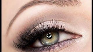 Макияж для зеленых глаз для светлых и темных волос в домашних условиях (фото и видео)
