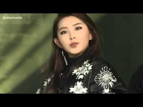 [HD][141221] 4Minute (포미닛) - Whatcha Doin Today? Remix (Rap ver)