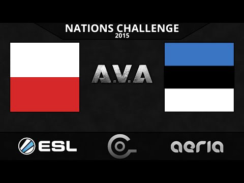 CGO AVA - Poland vs Estonia - Group Stage W2 - ESL Nations Challenge 2015