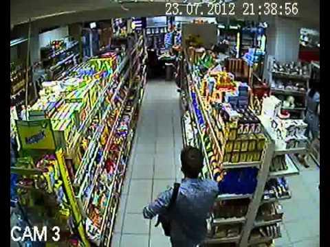 воровство в супермаркете (кража в магазине)
