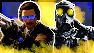 We RUINED Rainbow Six Siege With This Warden & Smoke Strategy
