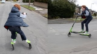 THREE WHEEL FLIKER SCOOTER!
