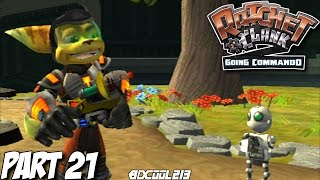 RATCHET & CLANK GOING COMMANDO GAMEPLAY WALKTHROUGH PART 21 PLANET DAMOSEL - PS2 LETS PLAY
