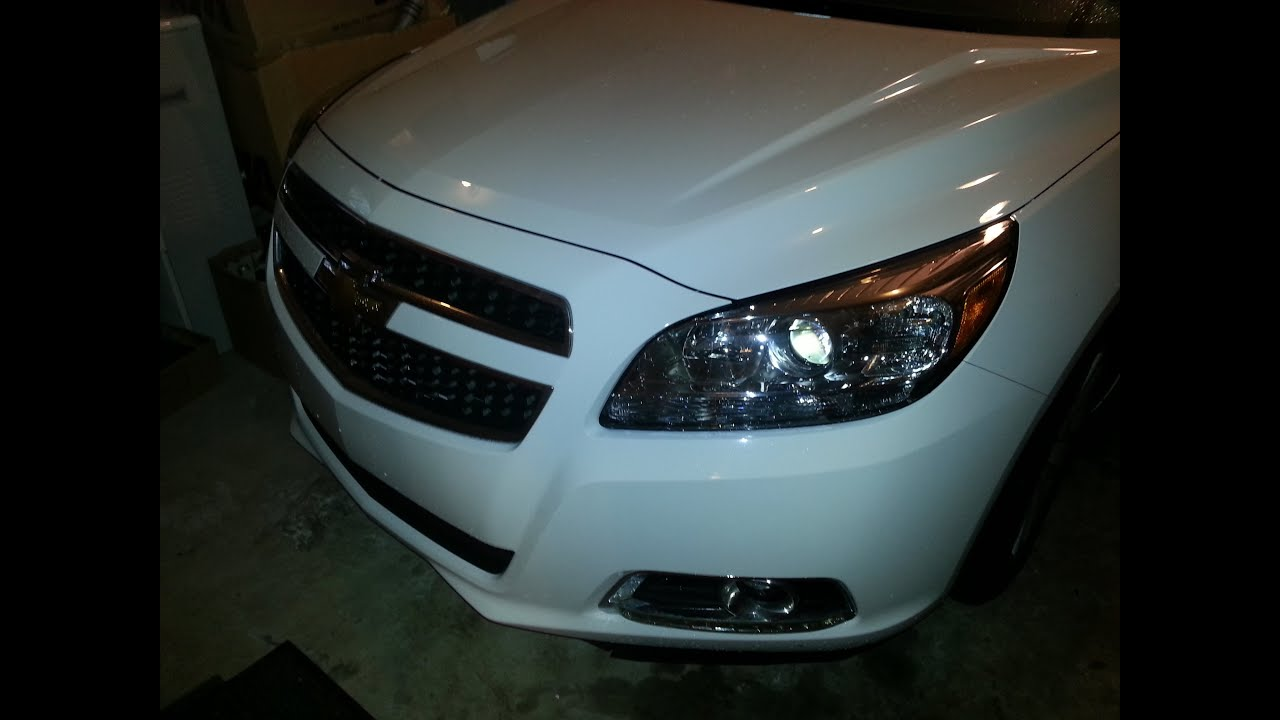 Headlight Bulb Replacement 2013 Malibu