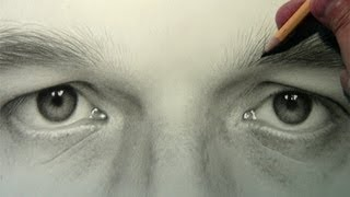 Self Portrait: Eyes [Drawing Time Lapse]