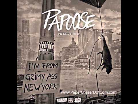 Papoose - Grimy Ass New York (Prod. By DJ Tip) 2015 New CDQ Dirty NO DJ