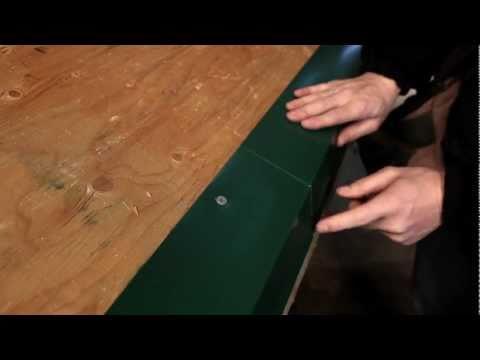 Exposed Fastener Panel:  Eave Trim Installation (Denver Eave)