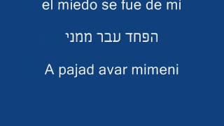 Río Roma | Me Cambiaste la Vida | שינית את חיי | מתורגם לעברית