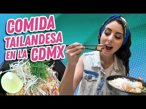 mexicana-prueba-comida-tailandesa,-pad-thai-y-bo-bun-en-la-cdmx