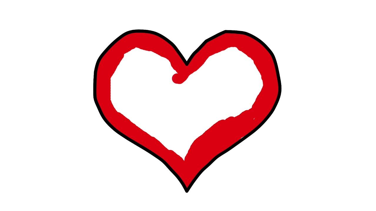 Renkleri Ogreniyorum L Cocuklar Icin Kalp Boyama Oyunu L Cocuk