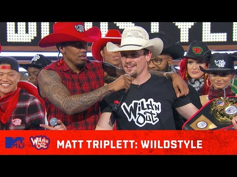 Matt Triplett Rides Strong � w/ Some Unexpected BARS! | Wild N Out | #Wildstyle