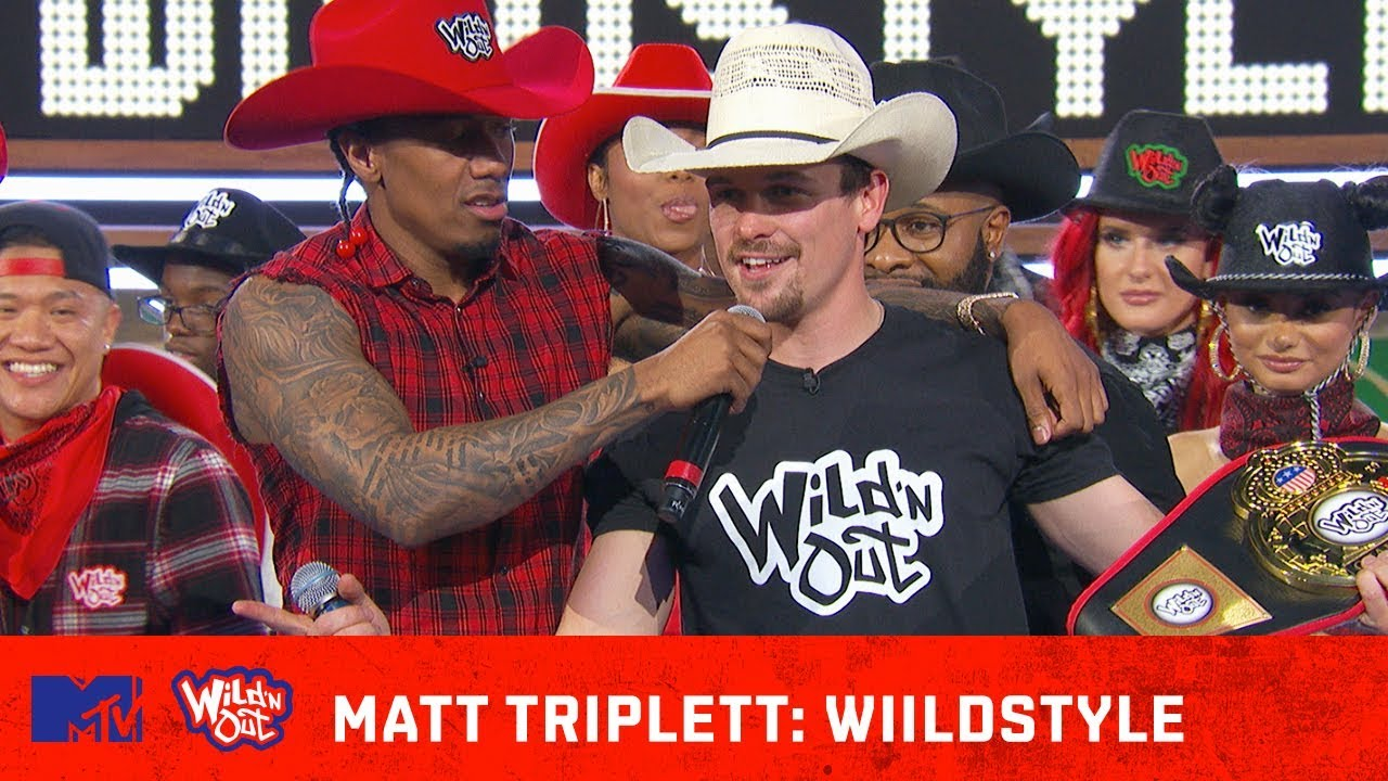 Matt Triplett Rides Strong 🐂 w/ Some Unexpected BARS! | Wild 'N Out | #Wildstyle