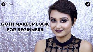 Goth Makeup Look   SUGAR Cosmetics