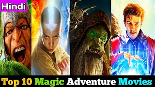 Top 10 Best Magic Adventure Movies In Hindi | As Per IMDb Rating