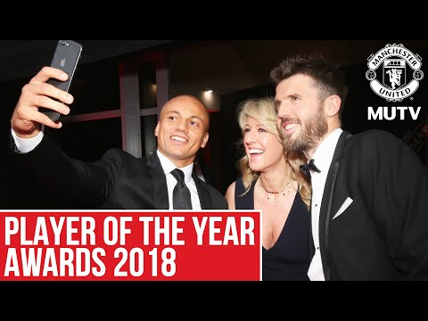 Manchester United Player Of The Year Awards Red Carpet | MUTV Showcase
