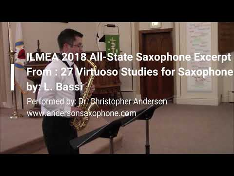 2018 ILMEA Senior High All State Slow Etude
