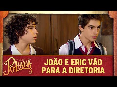 Eric e João vão parar na diretoria  As Aventuras de Poliana