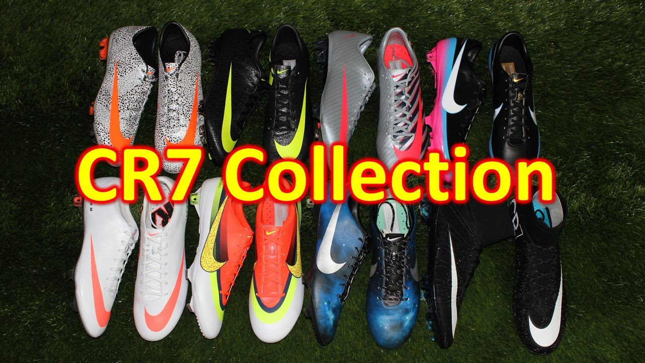History of the Nike Mercurial CR7 Collection - YouTube 1380a61cb398b