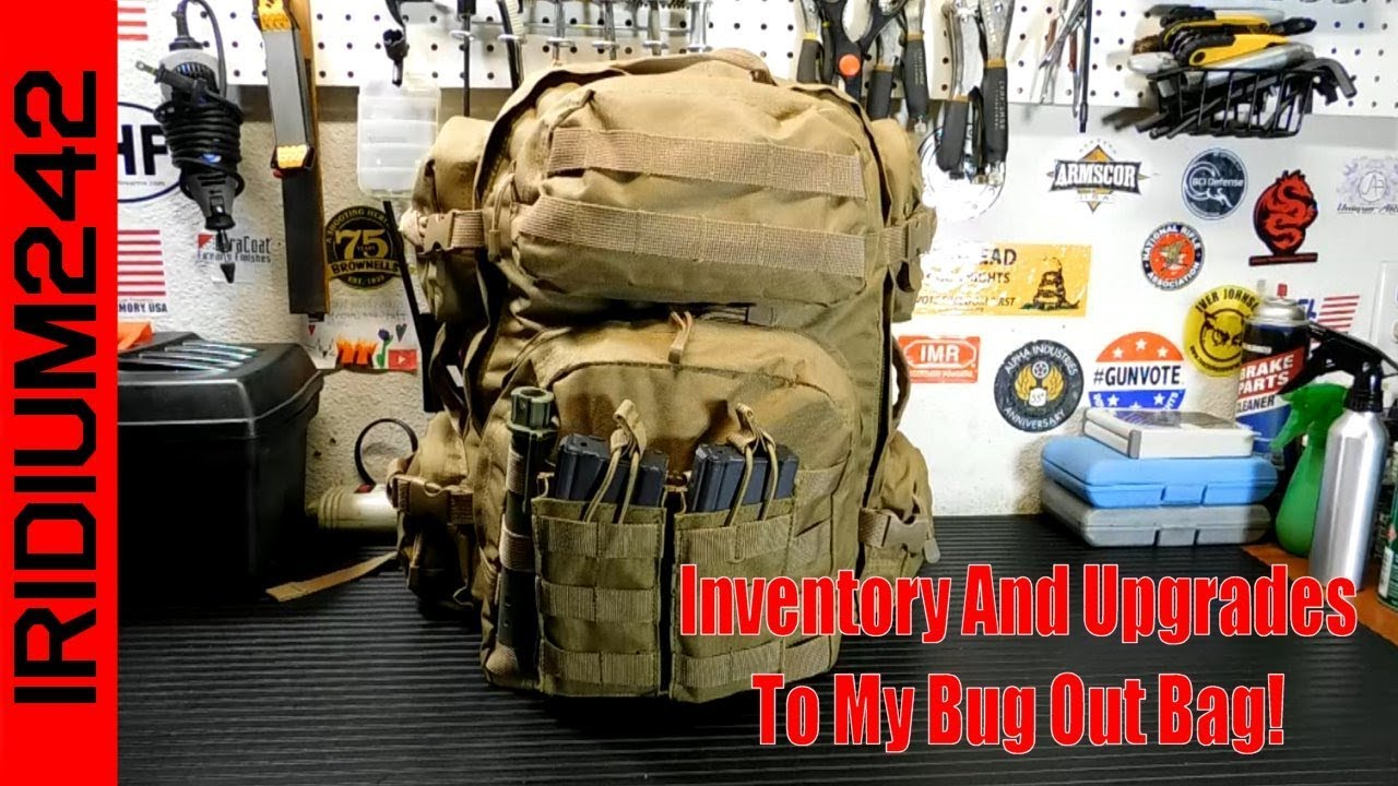 Upgrade And Inventory Of My Bug Out Bag