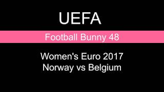 Score and Goal Highlights - Women's Euro 2017 - Norway vs Belgium
