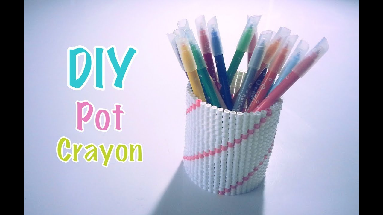 diy pot crayons perles repasser hama youtube. Black Bedroom Furniture Sets. Home Design Ideas