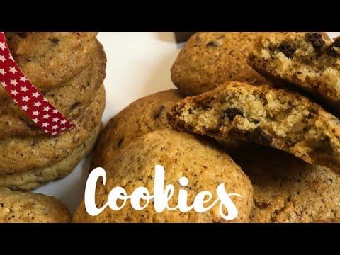 الطريقة-الصحيحة-لعمل-كوكيز-بنين-recettes-faciles-#cookies#كوكيزcookies-américains-moelleux
