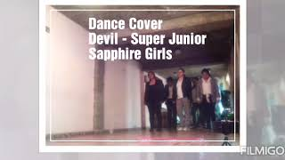 devil - Super Junior- dance cover por Sapphire Girls