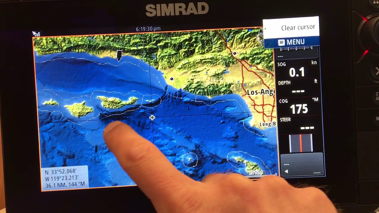 Simrad Insight Ming Evo Nss Fishfinder Gps Shaded Relief
