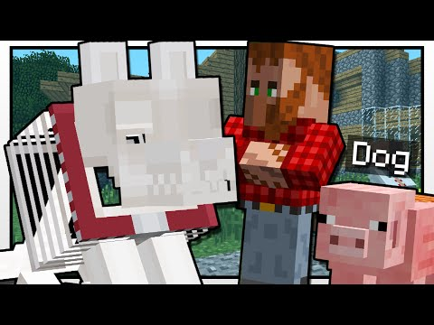 Minecraft | GRIM'S DOG SHOW!! | Custom Mod Adventure