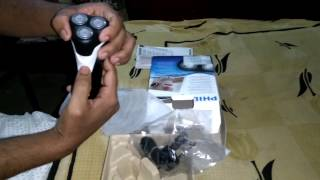 Unboxing and how to use Philips Shaver AT610